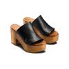 Mule con tacco largo bata, nero, 764-6436 - 16