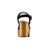 Sandali con tacco largo bata, nero, 764-6437 - 15
