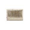 Pochette a righe bata, grigio, 969-2212 - 26