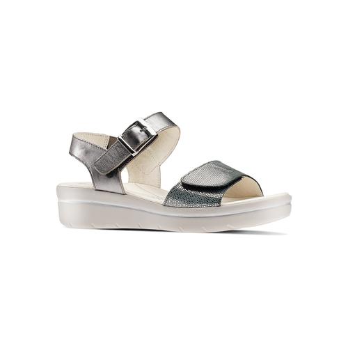 Sandali da donna bata-touch-me, argento, 564-2354 - 13