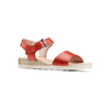 Sandali in pelle bata-touch-me, rosso, 664-5298 - 13