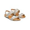 Sandali con strass bata, grigio, 569-2256 - 16
