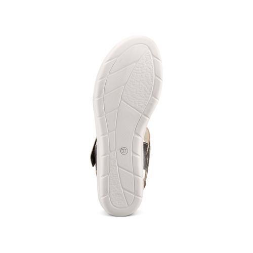 Sandali da donna bata-touch-me, argento, 564-2354 - 19