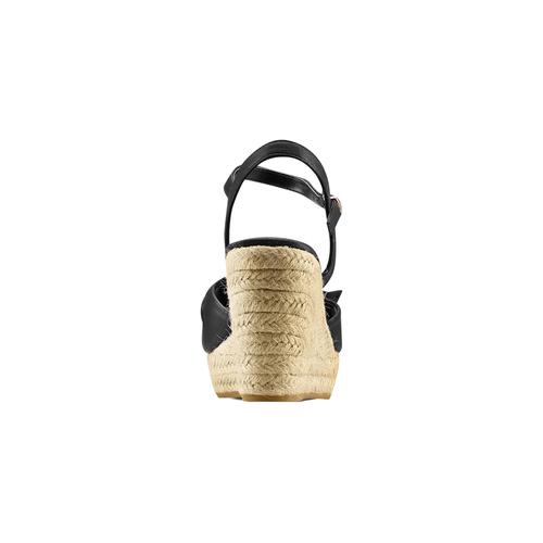 Sandali con applicazione bata, nero, 769-6237 - 15