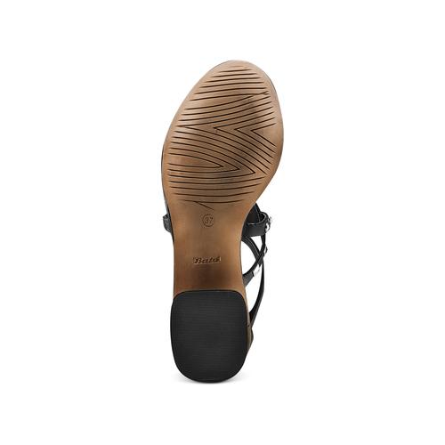Sandali con borchie bata, nero, 664-6296 - 19