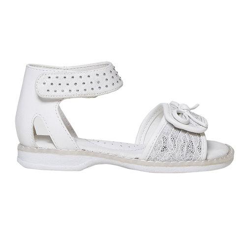 Sandali da ragazza con fiocco mini-b, 261-0177 - 15