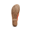 Infradito in pelle bata, rosso, 564-5318 - 19