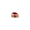 Infradito in pelle bata, rosso, 564-5318 - 15