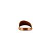 Ciabatte flat in pelle bata, marrone, 564-3146 - 15