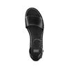 Sandali con zeppa bata, nero, 661-6354 - 17
