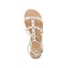 Sandali con doppio cinturino bata, bianco, 561-1542 - 17