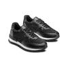 Sneakers con strass bata, nero, 541-6312 - 16