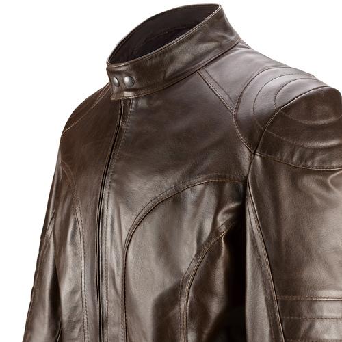 Giacca in pelle da uomo bata, marrone, 974-4178 - 15