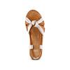 Sandali in vera pelle bata, marrone, 564-4525 - 17