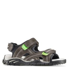Sandali in pelle da bambino mini-b, 363-2244 - 13