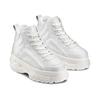 Sneakers alte con platform bata, bianco, 541-1231 - 16
