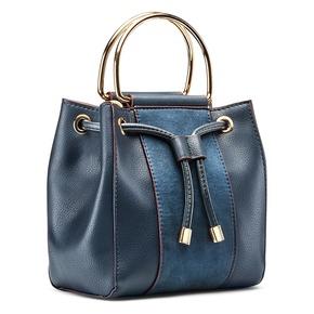 Handbag  bata, blu, 961-9448 - 13