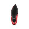 Stivali Bata in vera pelle bata, rosso, 794-5186 - 19