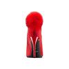 Stivaletti con pompon bata, rosso, 799-5438 - 15