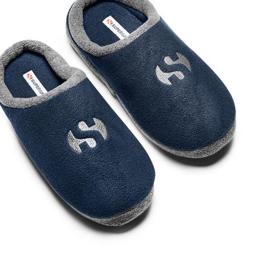 Slipper  superga, blu, 879-9312 - 26