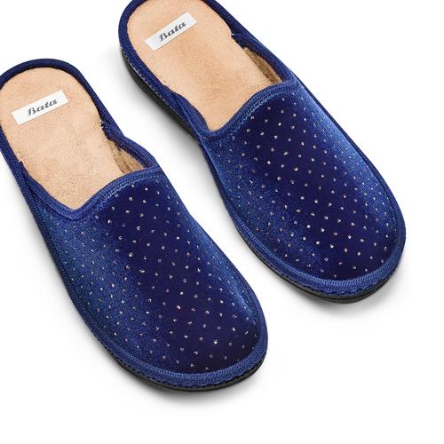Slipper  bata, blu, 579-9376 - 26
