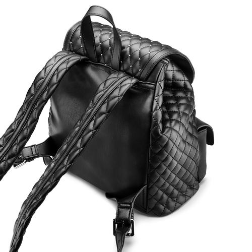 Handbag  bata, nero, 961-6441 - 17