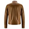 Giacca da uomo in vera pelle bata, marrone, 974-0154 - 26