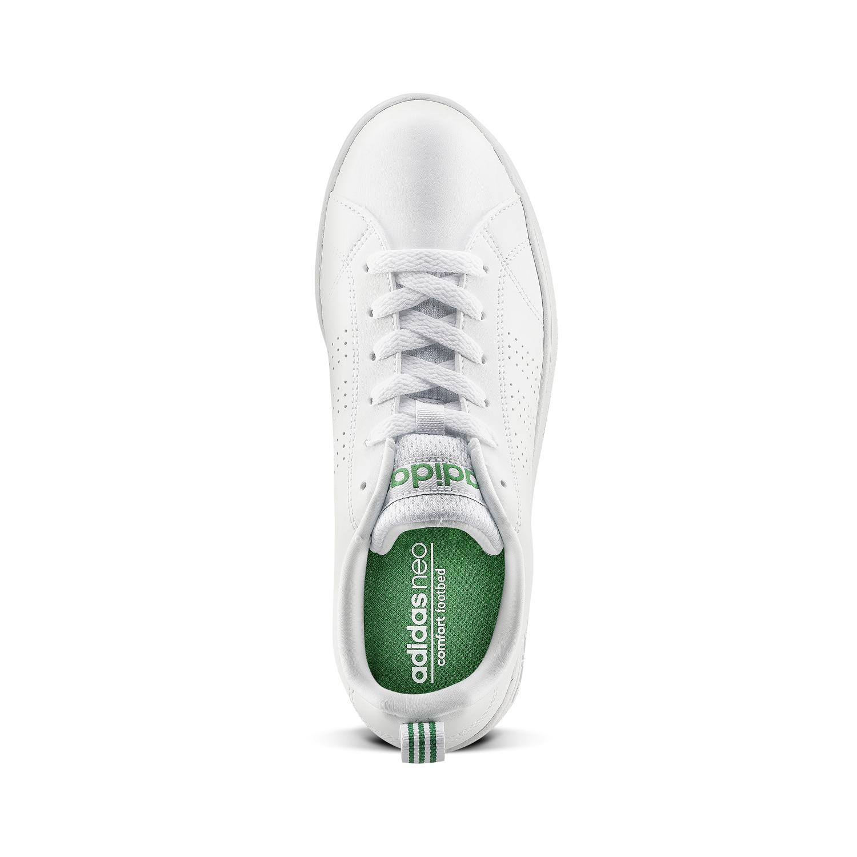 adidas neo bianche e verdi