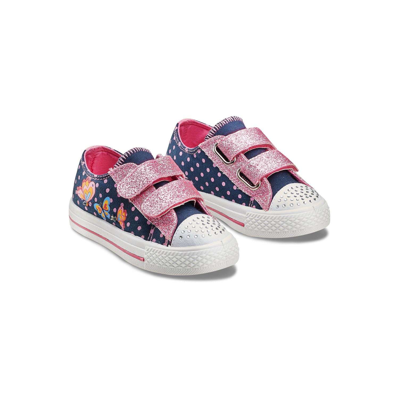 Ital-Design, Sneaker bambine, Blu (blu), 26 EU